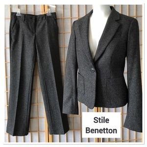Stile Benetton Two Piece Suit